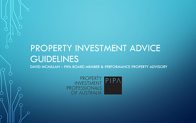 Property Investment Advice Guidelines