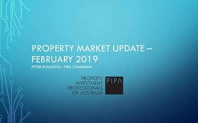 Property Market Update by Peter Koulizos