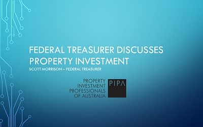Federal Treasurer discusses property investment