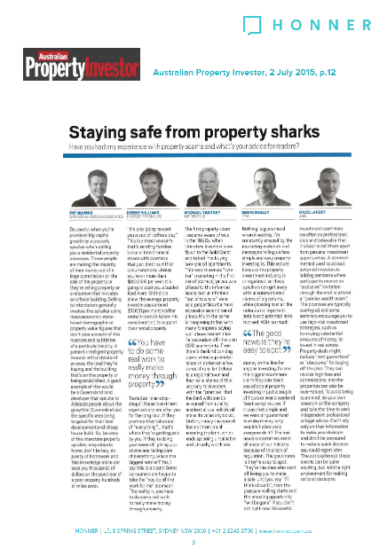 API Stay Safe from Property Sharks