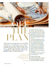 What to look for when buying off the plan - Crown Lounge page 1