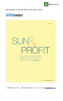 Sun and Profit Page 1