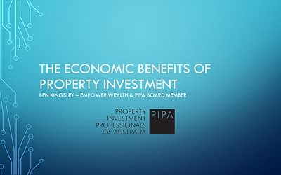 The Economic Benefits of Property Investment