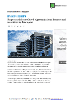 Property advisers offered big commissions bonuses and incentives by developers page 1