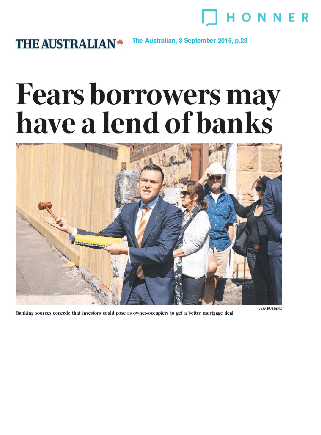 Fears Borrowers may have a lend of banks page 1