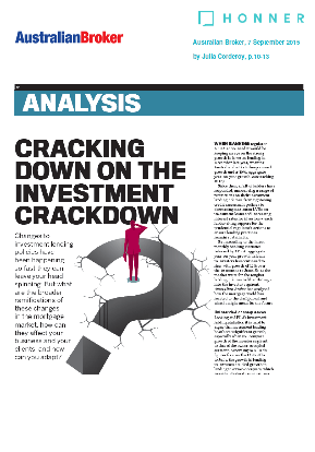 Cracking down on the investment crackdown page 1